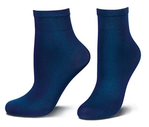 tom tailor damen socken 60d blau 9909 damen blickdicht evening blue feins ckchen ankle socks. Black Bedroom Furniture Sets. Home Design Ideas