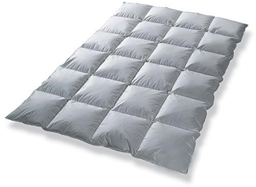 Daunendecke Bettdecke Kassettenbett gefüllt mit 80% Daunen 135x200 Garantiert kein Lebendrupf NEU&OVP