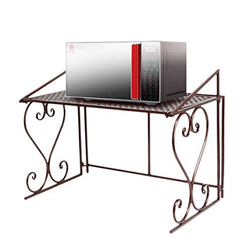 Dazone Metall Mikrowelle Regal Küchenregal Mikrowellenhalter
