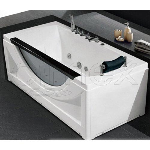 OimexGmbH Whirlpool Badewanne Stella hochwertigem Sanitäracryl Massage