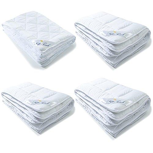Steppdecke | weitere Decken wählbar | Mikrofaser Bettdecke | verschiedene Größen | aqua-textil Soft Touch