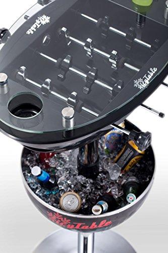 Sweety Toys 6656 Icy Table Multifunktionstisch: Bartisch-Kühlbox-Tischkicker SCHWARZ