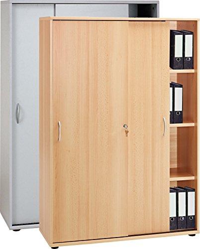 VCM Schrank Aktenschrank Büroschrank Ordnerschrank Büromöbel Regal Omegos 480