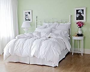 WINTER Bettdecke!! Warme kuschlige Daunen Bettdecke 155x220 cm Daunen Decke Kassetten Bett 100% Natur!