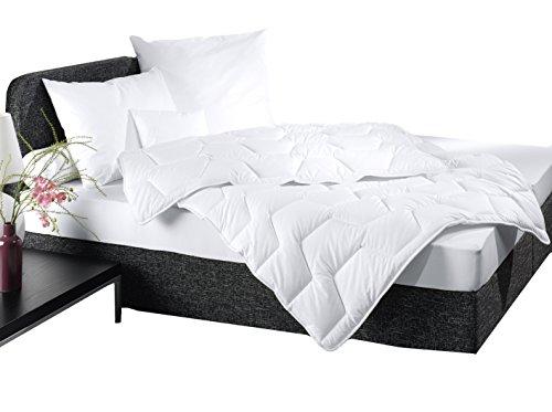 """ZOLLNER® allergiker Steppdecke / Bettdecke 135x200 cm vom Hotelwäschehersteller, Serie """"Alpha"""""""
