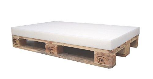 1 x Schaumstoff Polster Schaumstoffplatte Schaum für Euro-Palette 120 x 80 x 8 cm ohne Palette