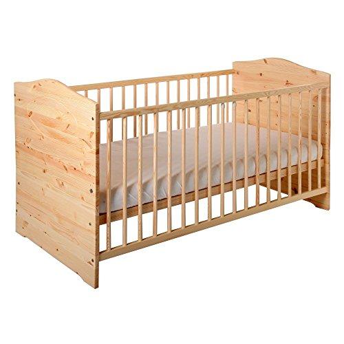 BABYBLUME Babybett Kinderbett Jugendbett 140x70 umbaubar - Kuba -