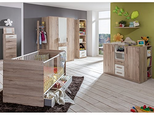 Babyzimmer Cariba komplett Sets verschiedene Ausführungen