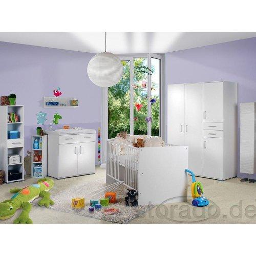 Babyzimmer Isabel Weiss/Weiss 8tlg.