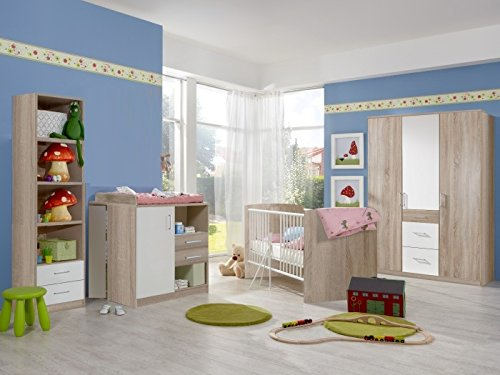 Babyzimmer Nicki komplett Sets verschiedene Ausführungen