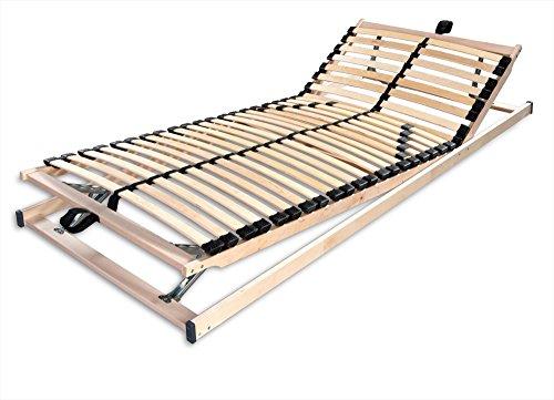 Betten-ABC Max1 K+F, Lattenrost zur Selbstmontage, mit Kopf- und Fußteilverstellung, Holm durchgehend