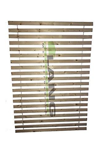 Exklusiv Rollrost Lattenrost Extra Stark m. 20 stabilen Lamellen 6 cm breit 2 cm dick 120x200cm