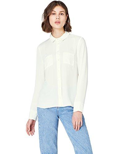 FIND Hemd Damen mit Kragen und Brusttaschen