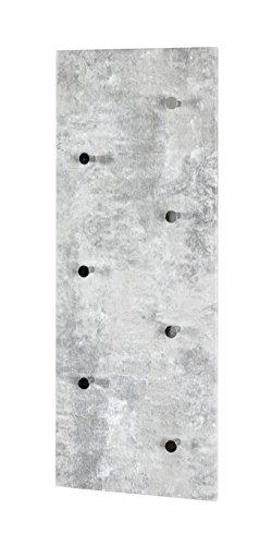 HAKU Möbel Wandgarderobe 80 x 5,5 x 30 cm