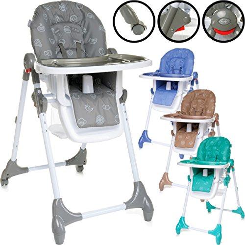 Hochstuhl / Kinderhochstuhl / Babyhochstuhl (6-Fach Höhenverstellbar) PREMIUMQUALITÄT