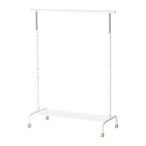 IKEA RIGGA -Kleiderständer weiß