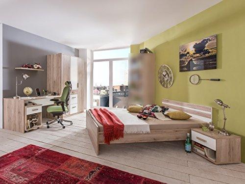 Jugendzimmer Cariba Komplett verschiedene Ausführungen Kinderzimmer Möbel