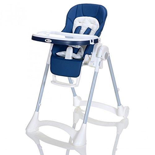 Kinder-Hochstuhl bis 25 kg Höhe Verstellbar - Faltbar LCP Kids Baby Stuhl