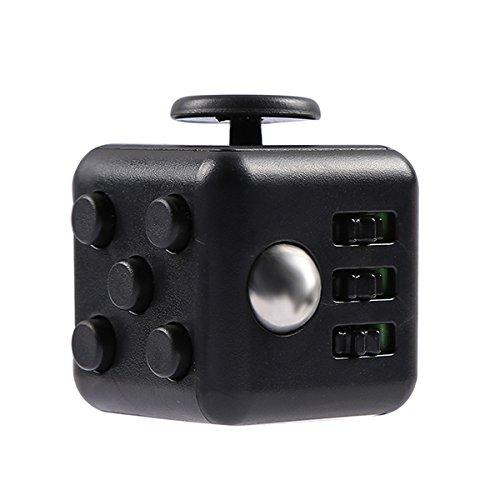 Kinder zappeln Cube schwarz Kinder Erwachsene Stress Relief Angst Aufmerksamkeit Spielzeug devolopment Geschenk