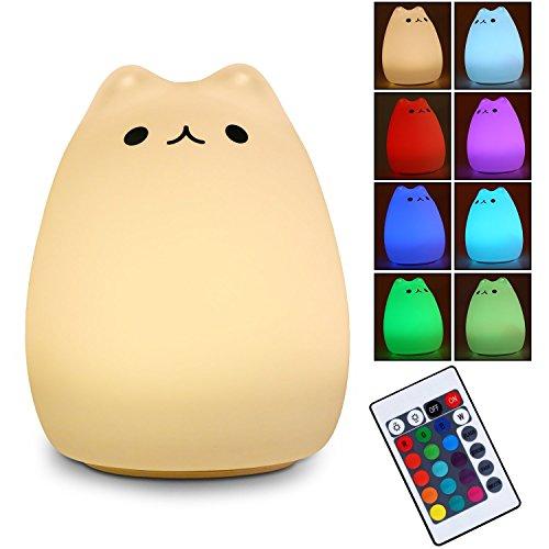 LED Nachtlicht - Nachtlicht Kinder Baby Nachtleuchte USB Nachladbares LED Multicolor Nachtlampe für Kinder Schlafzimmer Home Decorate