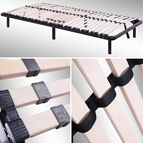 Lattenrost, Gästebett - auf Füßen, für alle Matratzen geeignet - alle Größen