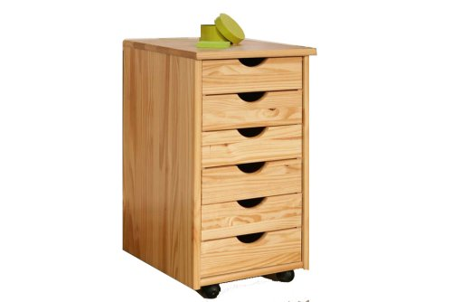 Links 30600300 NILS Rollcontainer 36x40x65 cm 6 Schubladen