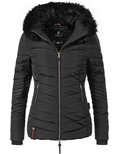 Marikoo Damen Winter Jacke Steppjacke Mamba (vegan hergestellt) 5 Farben + Camouflage XS-XL