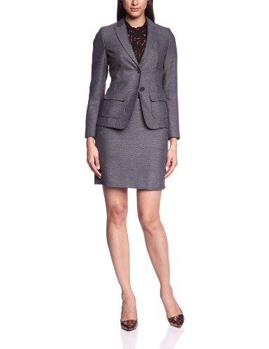 More & More Damen Businessblazer 88996554, Reverskragen Regular Fit