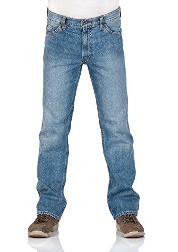 Mustang Herren Jeans Tramper Slim Fit - Dark Used - Super Stone