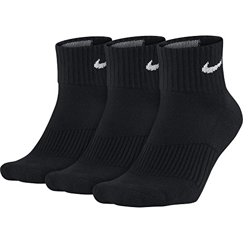 Nike Herren Strümpfe Cushion Quarter, 3er Pack