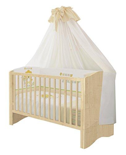 Polini Kids Babybett Kombi-Kinderbett Simple 140 x 70 cm in verschiedenen Farben