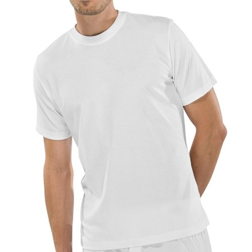Schiesser Herren American Shirt Unterhemd 008150, Rundhals Unterziehshirt T-Shirt