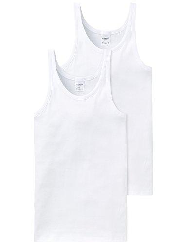 Schiesser Herren Unterhemd 2 er Pack 205144-100
