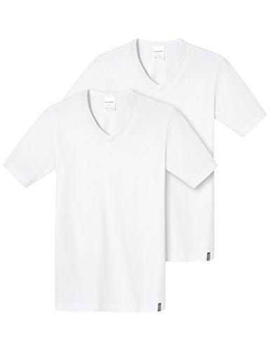 Schiesser Herren Unterhemd Shirt 1/2 Arm 2er Pack