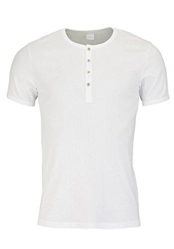 Schiesser Herren Unterhemd T-shirt mit Knopfleiste Naturbursche 123627