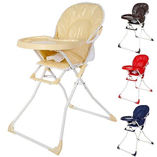 TecTake Kinderhochstuhl Babyhochstuhl klappbar -diverse Farben-