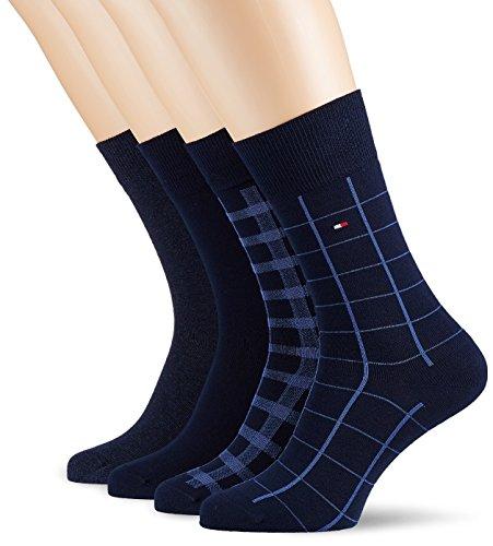 Tommy Hilfiger Herren Socken, 4er Pack