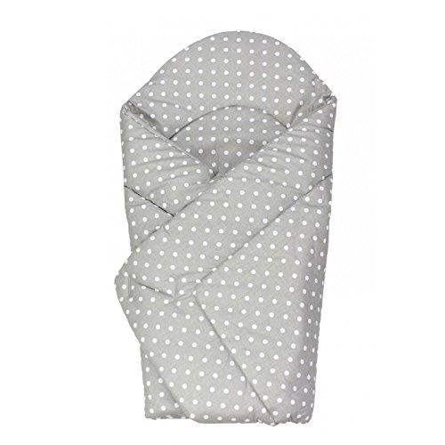 TupTam Baby Einschlagdecke Warm Wattiert Baumwolle