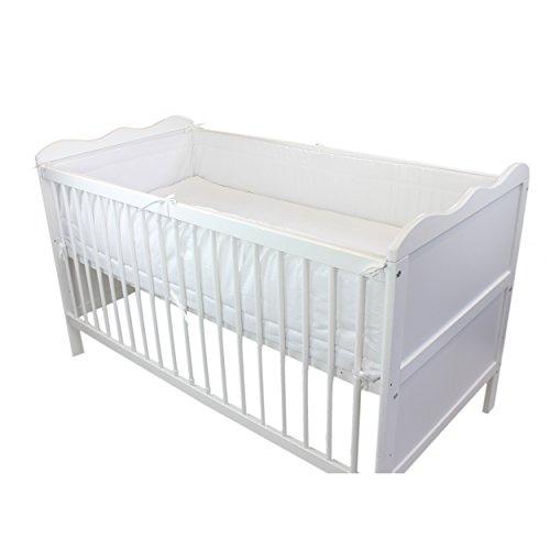TupTam Baby Nestchen Bettumrandung Babybett 140x70