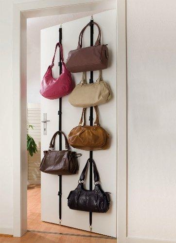 WENKO Ordnungssystem Taschen-Garderobe, 2er Set