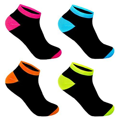 12 Paar L&K-II Damen Sneaker Socken Füßlinge 92236