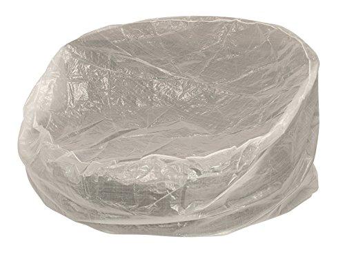 Abdeckhaube für Relaxinsel 190cm rund, PE transparent