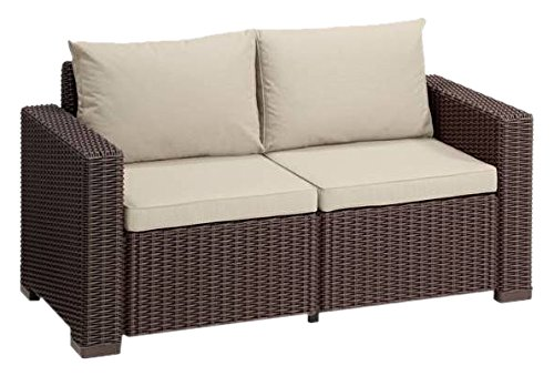 Allibert Lounge Sofa California, 2-Sitzer