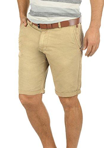 Blend Clemens Herren Chino Shorts Bermuda Kurze Hose Mit Gürtel aus 100% Baumwolle Regular Fit