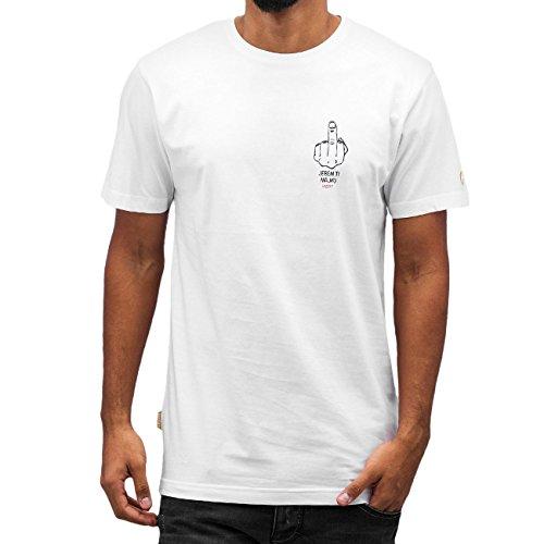 CHABOS IIVII Herren Oberteile / T-Shirt Je Bem weiß XL