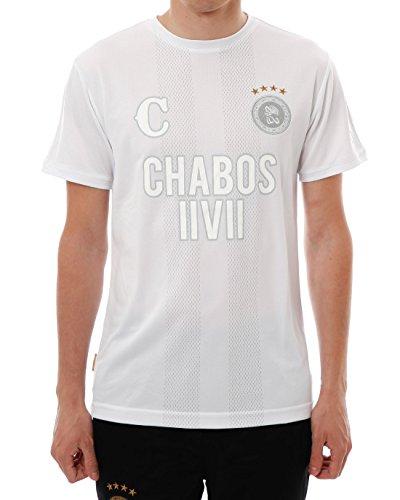 Chabos IIVII Herren Oberteile/T-Shirt Bianci Soccer