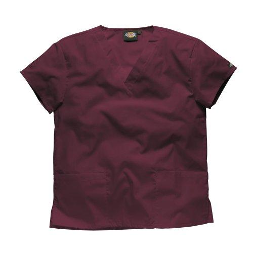 DICKIES WORKWEAR Schlupfhemd Medizin 2 Taschen mit V-Ausschnitt