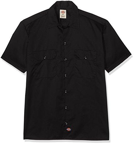 Dickies - - 1574 Kurzarm Shirt Work, 2X-Large Tall, Black