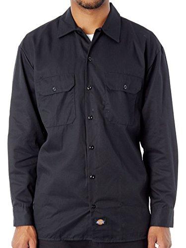 Dickies Herren Freizeithemd Streetwear Male Shirt Long Sleeve Work