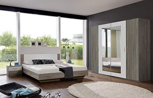Dreams4Home Schlafzimmerkombination 'Barma III', Schlafzimmer, Schlafzimmer komplett, Schlafzimmer Set